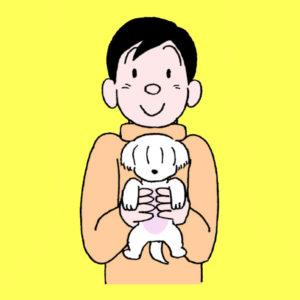 エッセイ漫画『目の痙攣』